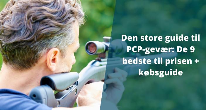 PCP Luftgevær: stor guide og test af de 9 bedste